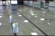 فیلم: فرودگاه آبادان را آب برد