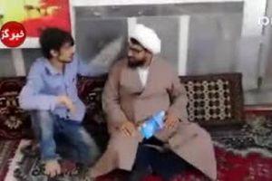 فیلم: طلبهای که بساط نیروی انتظامی را جمع کرد