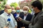 فیلم: زالی: قالیباف در بیمارستان همه پروتکلها را رعایت کرد