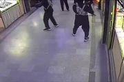 فیلم: لحظه سرقت مسلحانه مردان سیاهپوش از پاساژ طلای سراوان